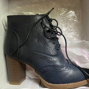 Bella Marie booties from ModCloth
